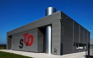 Nieuwbouw produktiehal ST&D te Apeldoorn