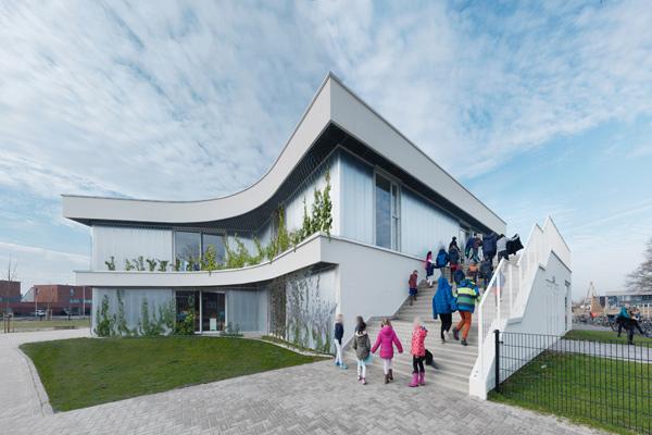 Nieuwbouw school Diamant Apeldoorn